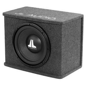 """JL Audio CS112-WXV2 #93291 - Subwoofer Enclosure with Single 12"""" WX Subwoofer"""