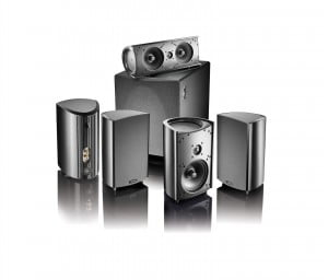 Definitive Technology ProCinema 600 5.1 Home Theater Speaker System - Black