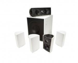 Definitive Technology ProCinema 600 5.1 Home Theater Speaker System - White