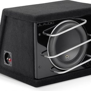 "JL Audio CLS110RG-W7AE #93270 - ProWedge Enclosure with one 10"" W7AE subwoofer"