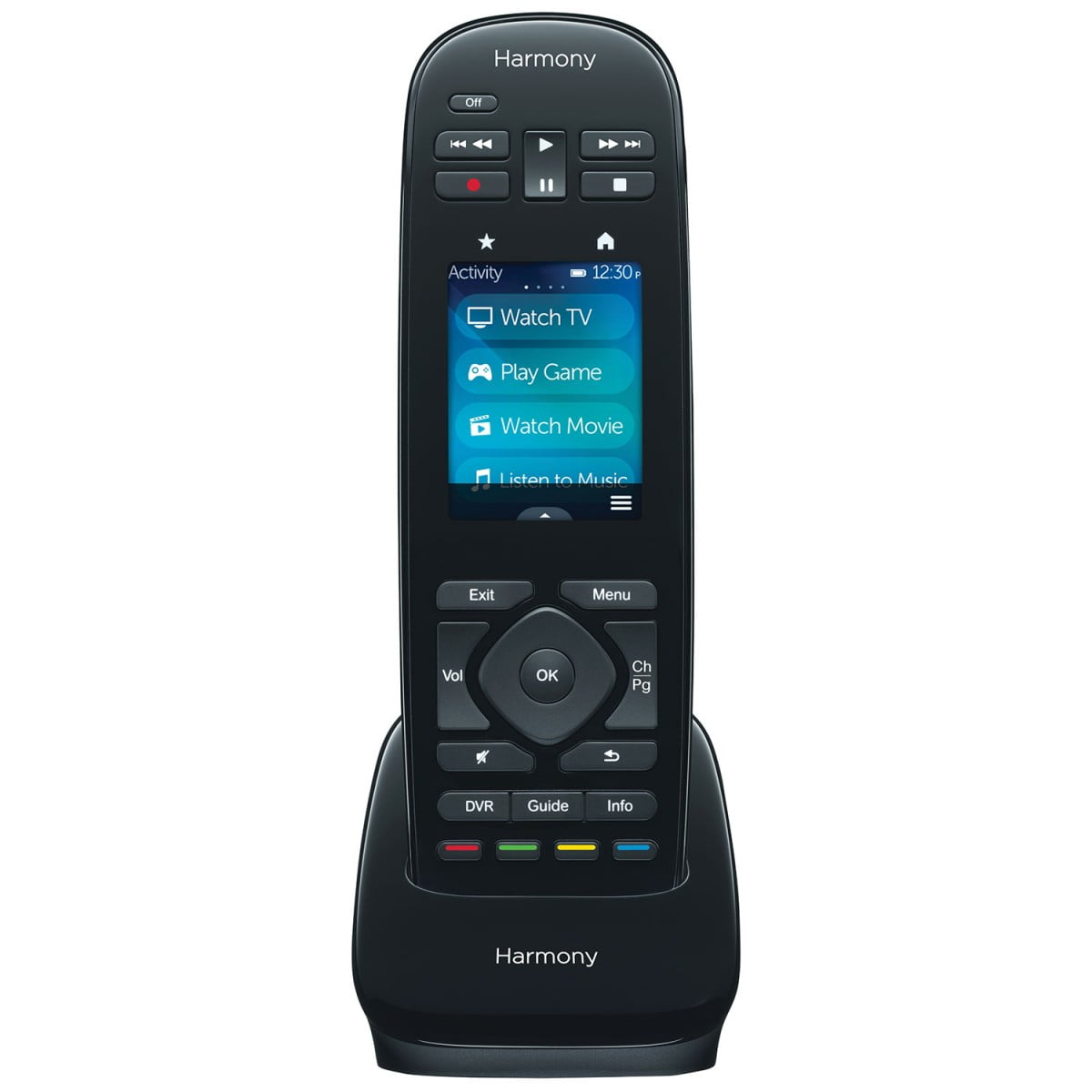 logitech harmony ultimate one touchscreen remote control. Black Bedroom Furniture Sets. Home Design Ideas
