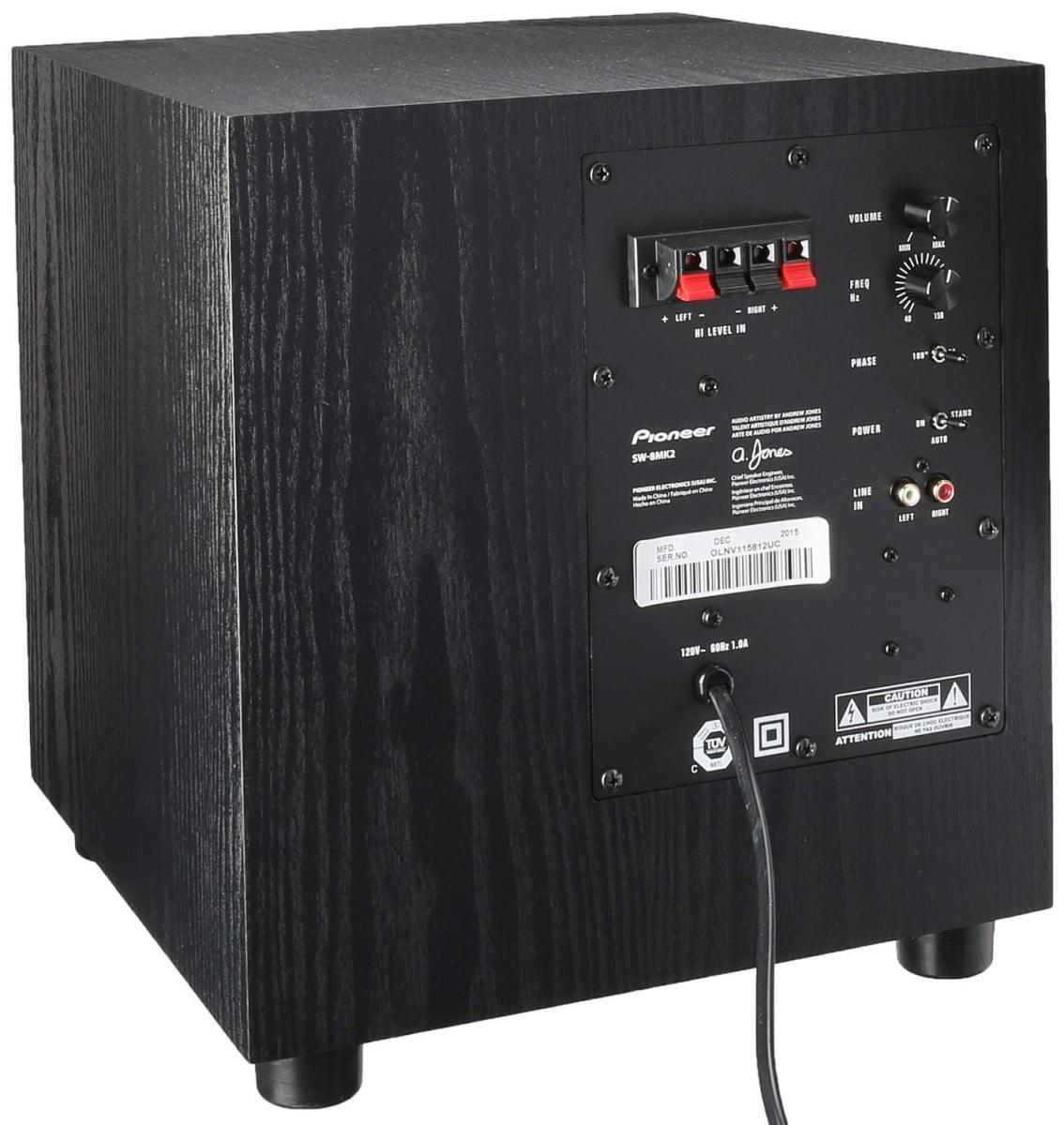Pioneer Sw 8mk2 Andrew Jones Designed 100 Watt Powered