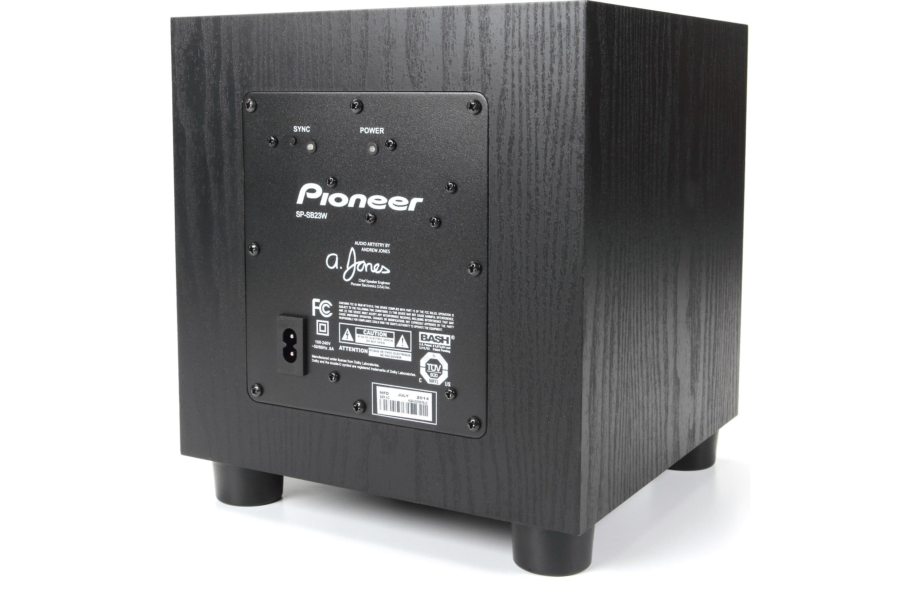 Pioneer Sp Sb23w 2 1 218w Speaker Bar And Wireless