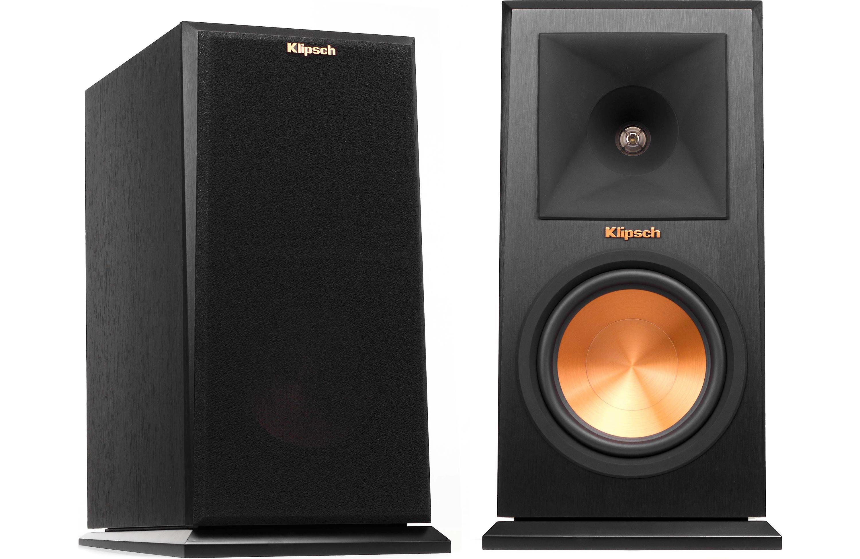 Klipsch Rp 160m Ebony 6 5 Inch Monitor Speaker Pair