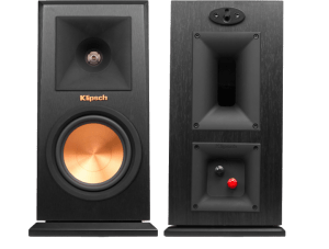 Klipsch Reference Premiere RP-150M Bookshelf Speakers ebony front