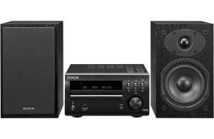 Denon D-M40SBK Personal Audio Micro System w/ Speakers