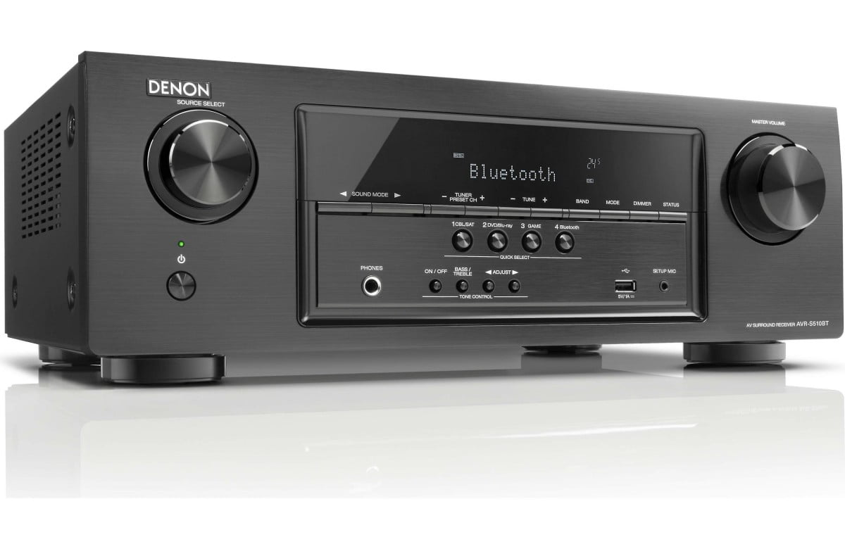 Denon AVR-S510BT 5.2-ch home theater receiver w/ Bluetooth B Stock