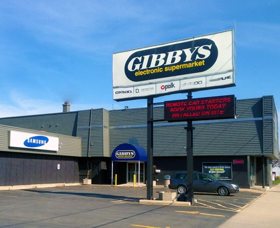 Gibbys Electronic Supermarket - Audio - Video Specialists