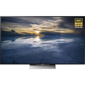 sony xbr-55x930d front