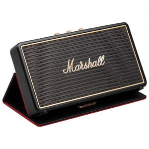 Marshall Stockwell Portable Bluetooth Speaker with Multi-Functional Flip Cover