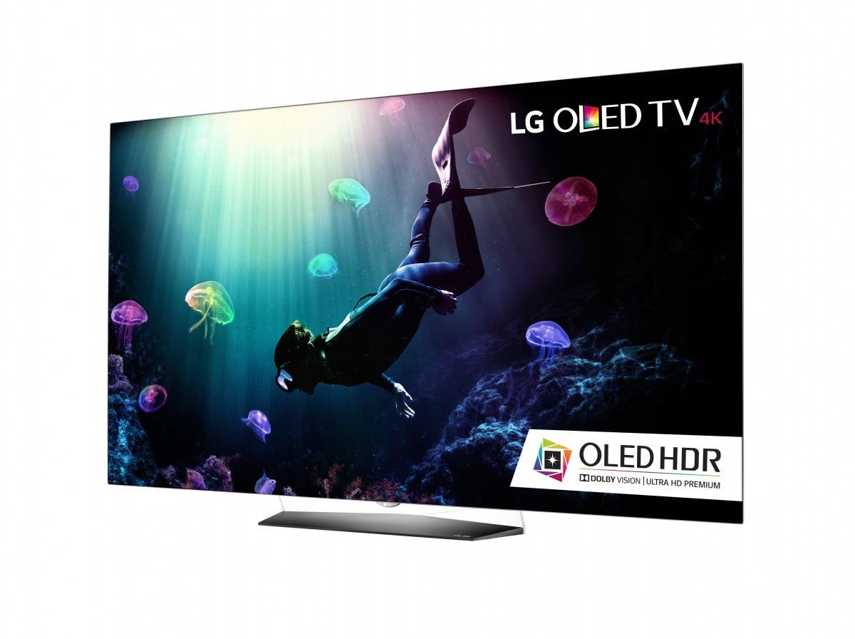 lg 55b6p 55 4k uhd smart oled tv w webos 3 0 gibbys electronic supermarket. Black Bedroom Furniture Sets. Home Design Ideas
