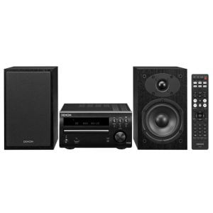 Denon DM-40SBK 60W Micro Audio System