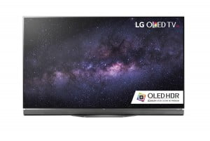 "LG 55E6 55"" 4K UHD Smart OLED TV front"