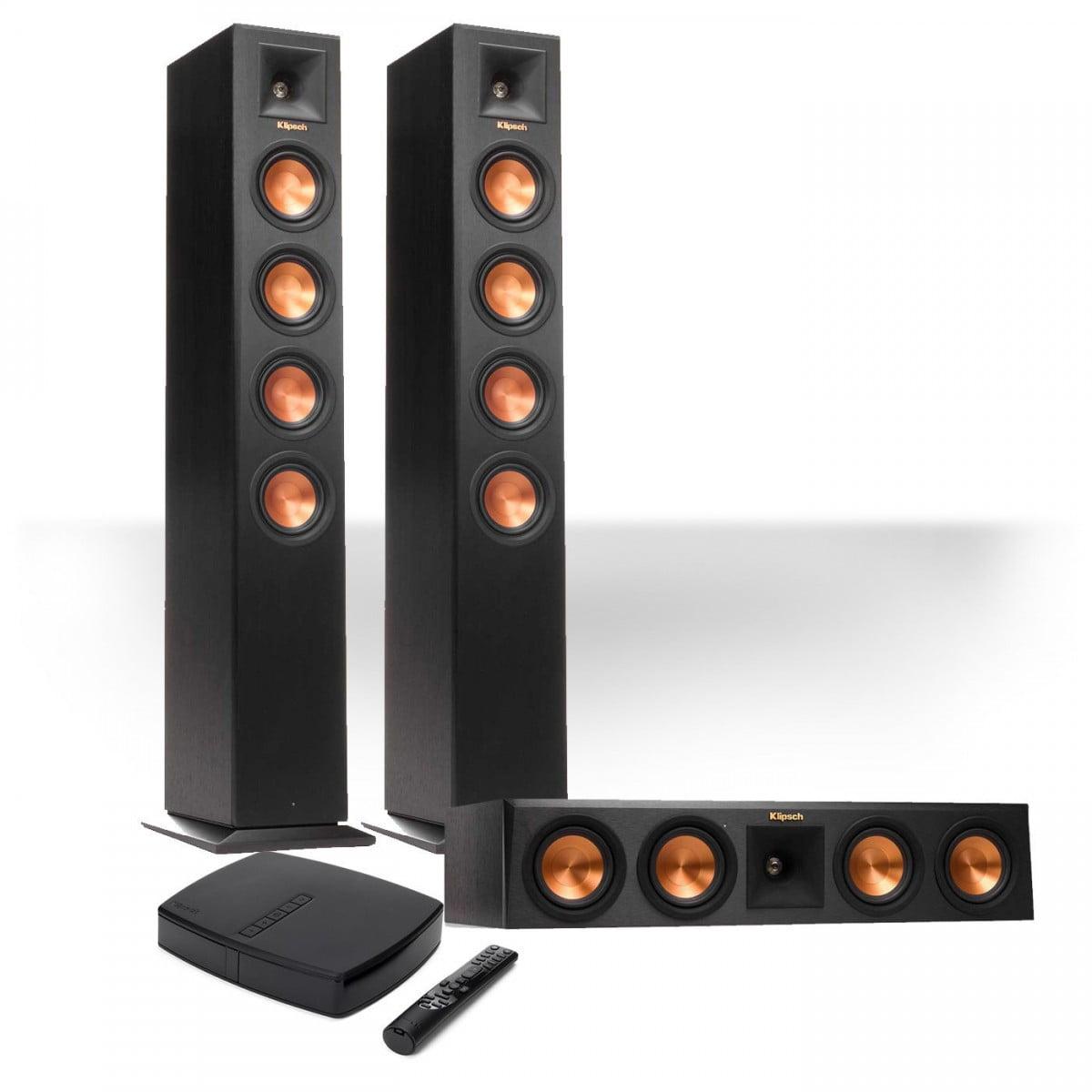 klipsch home speakers. klipsch reference premiere hd wireless 3.0-channel floorstanding speaker system home speakers