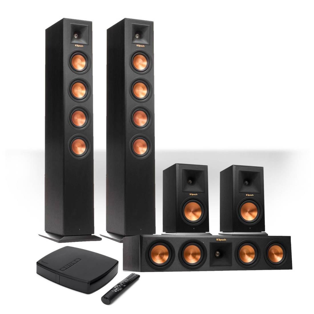 Klipsch Reference Premiere HD Wireless 5 0 Channel Floorstanding Speaker System Gibbys