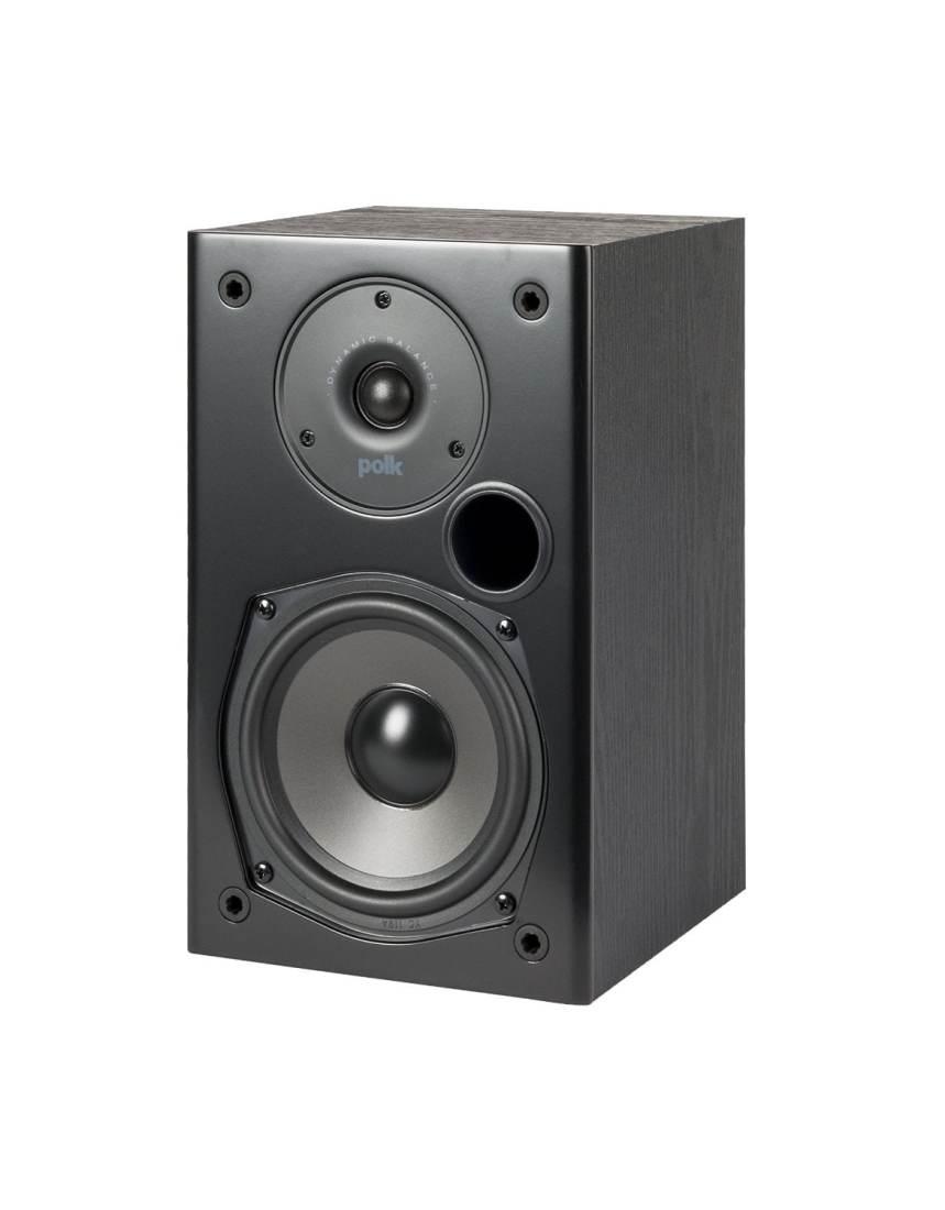 Polk Audio T15 5 1 4 Bookshelf Speakers Black Pair