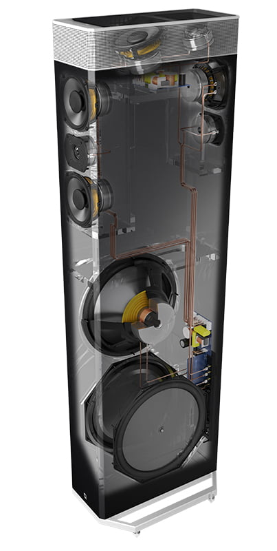 Definitive Technology Bp 9080x Tower Speaker With
