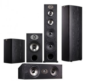 polk audio tsx220b tsx250c tsx550t bundle