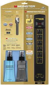 Monster - 101624 Gold Home Theater Kit