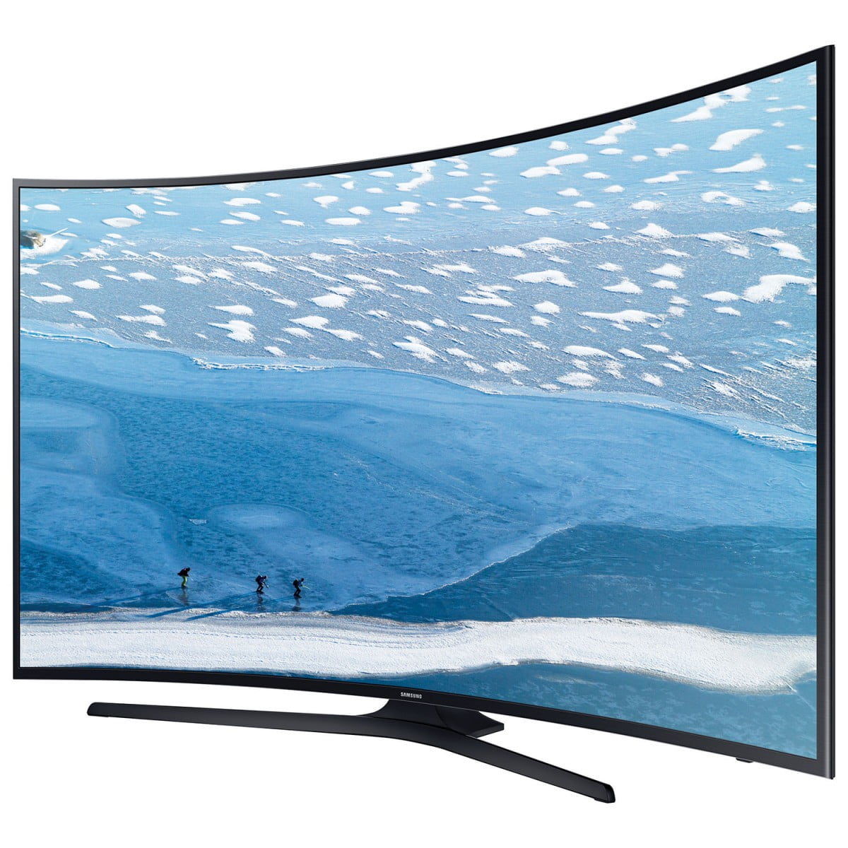samsung un55ku6490 55 4k ultra hd curved led smart tv open box 1 ony gibbys electronic. Black Bedroom Furniture Sets. Home Design Ideas