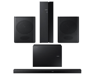 Samsung HW-K550 340W 3.1-Soundbar and SWA-8000 Wireless Rear Speaker Kit