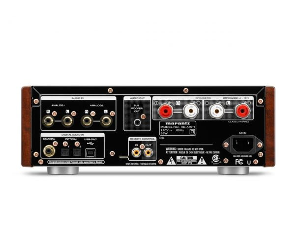 Marantz HD-AMP1 - Rear
