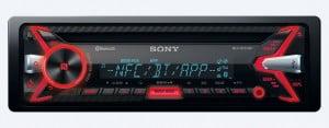 Sony MEX-N5100BT - RedBlue