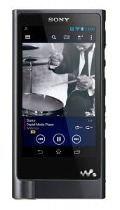 Sony NW-ZX2BLK - Front