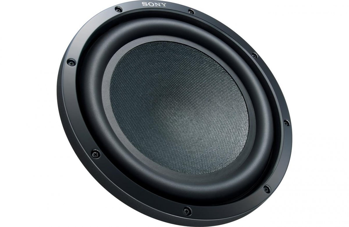 sony subwoofer. sony xs-gsw121d - front subwoofer