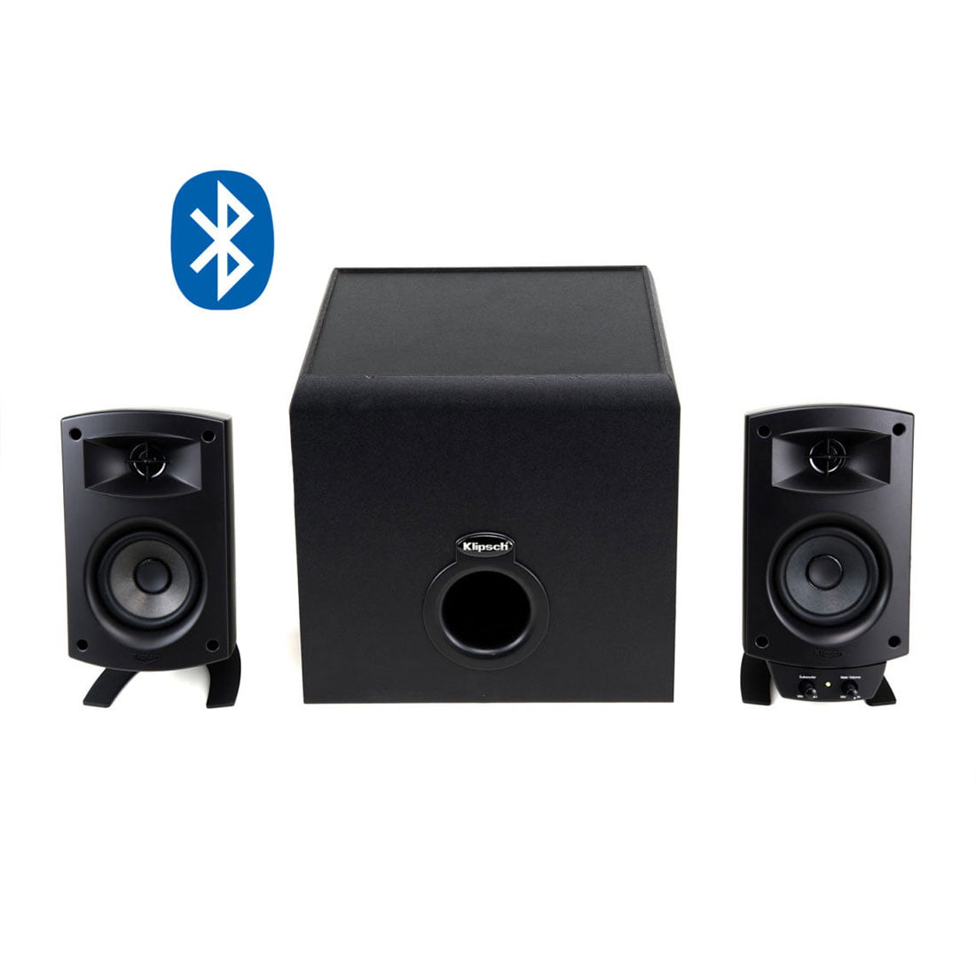 Klipsch Promedia 2 1 Bluetooth Speaker Bundle