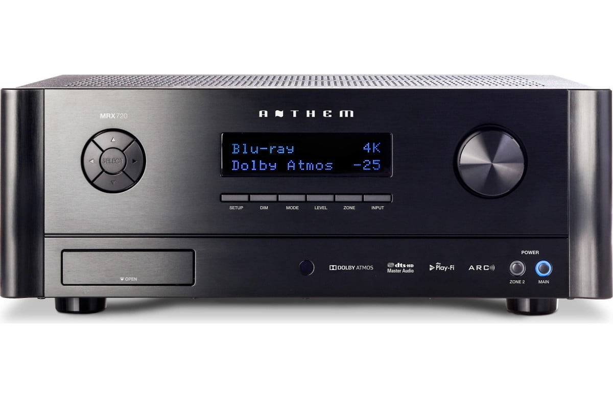 Anthem mrx 720 7 2 channel home theater receiver - Home cinema 7 2 ...