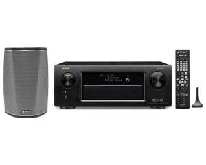 Denon AVR-X6300H HEOS 1 (Series 2) Bundle
