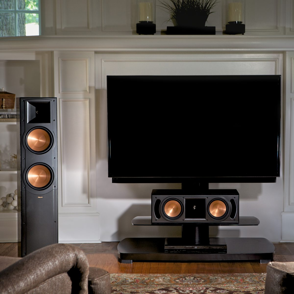 klipsch rf 82 ii floorstanding speaker black each. Black Bedroom Furniture Sets. Home Design Ideas