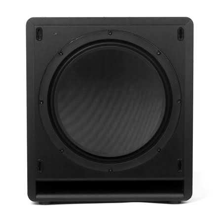 klipsch sw 112 12 inch front firing subwoofer black gibbys electronic supermarket. Black Bedroom Furniture Sets. Home Design Ideas