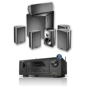 Denon AVR-X3200W - Procinema600 - Bundle