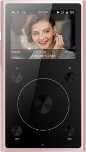 FiiO X1-II 2nd Gen Portable High Resolution Lossless Music Player - Rose Gold