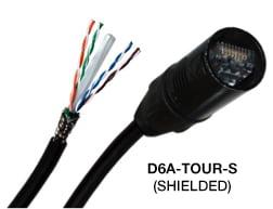 Digiflex D6 Patch-1 Cat6 Network Cable