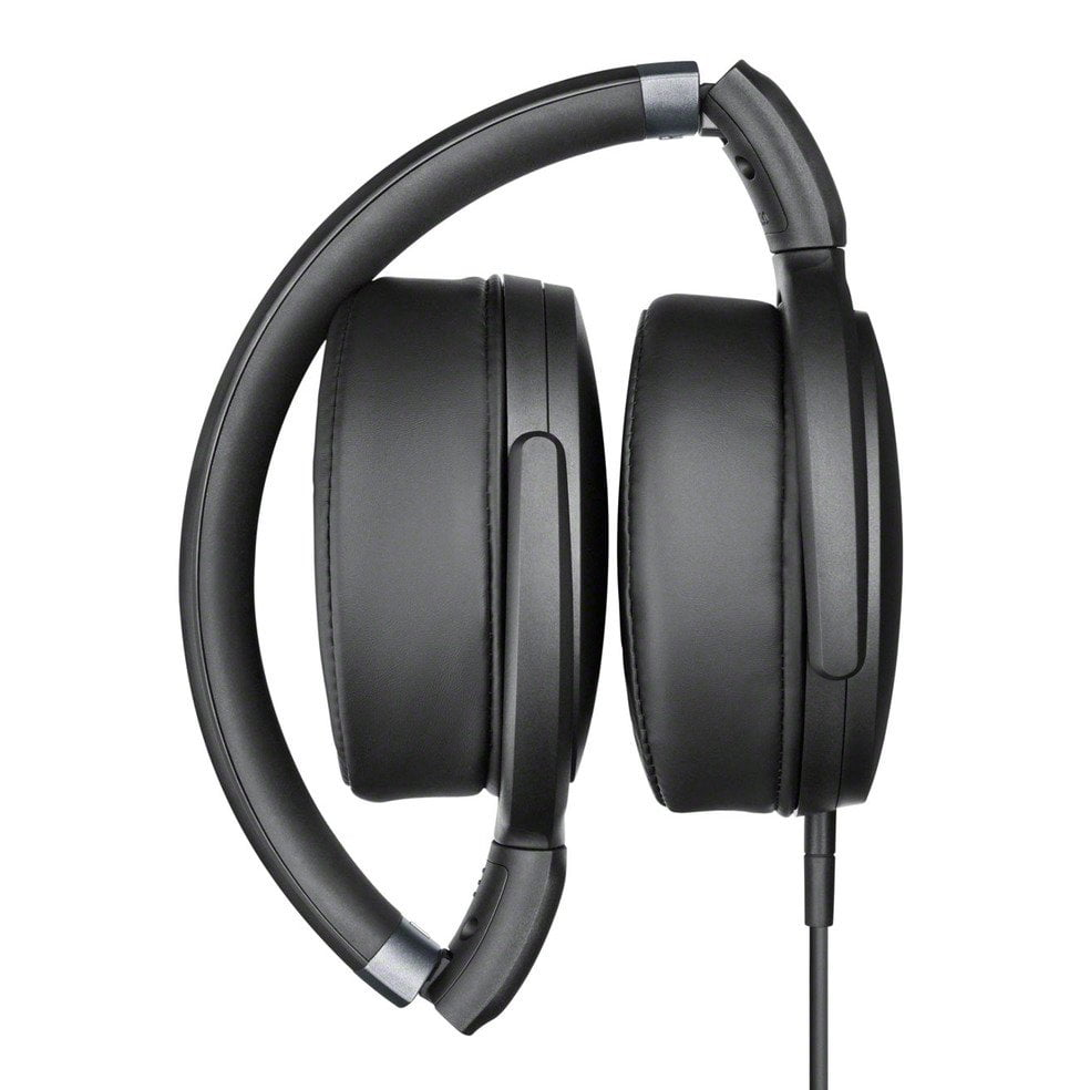 sennheiser hd over ear headphones black 506780. Black Bedroom Furniture Sets. Home Design Ideas