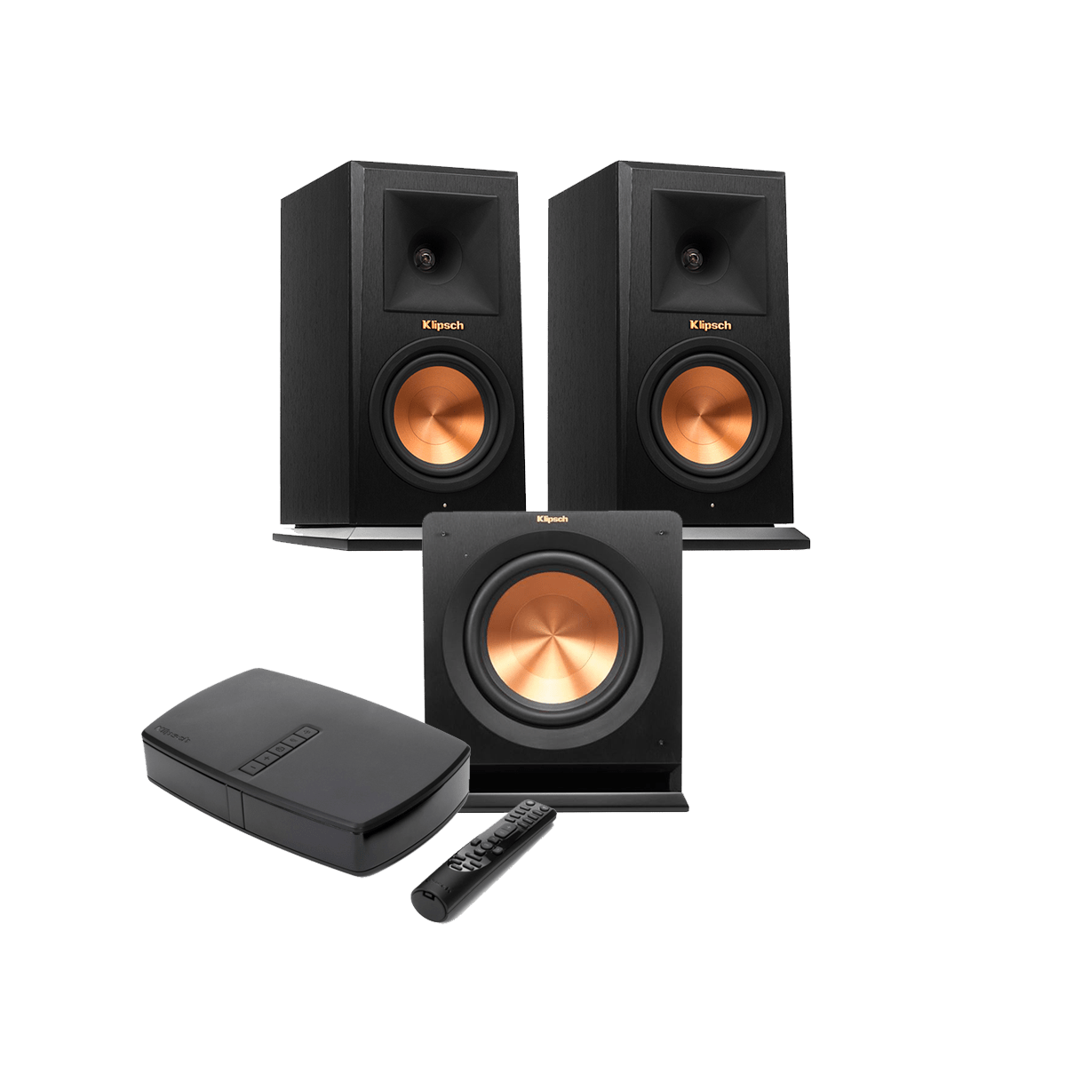 klipsch bookshelf speakers. klipsch rp-140wm bundle bookshelf speakers