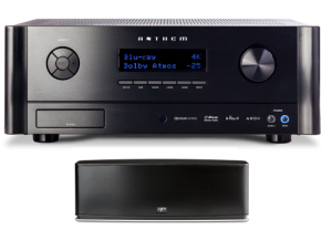 Anthem AVM 60 11.2-ch Home Theater Preamp with Paradigm Shift PW800 Wireless Stereo Speaker – Bundle