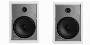 "Polk Audio MC85 High Performance 8 1/2"" Rectangular In-Wall Speakers - Pair"