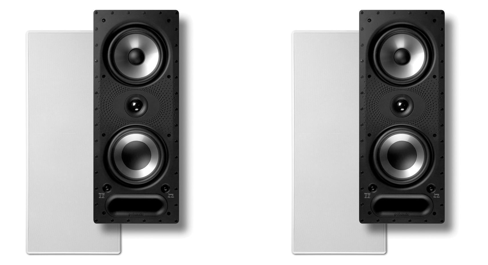 Polk Audio Vs265 Rt High Performance In Wall Loudspeakers