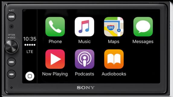 Sony XAV-AX100 Smart Phone Auto Media AV Receiver