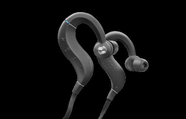 Denon AH-C160WBK Black Wireless Sports In-Ear Headphones
