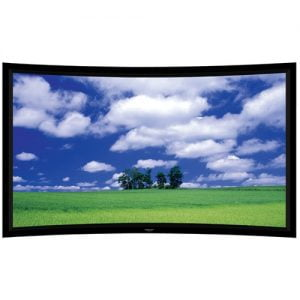 "Grandview LF-PH 135 Prestige Series 135"" Permanent Curve Fixed Frame Screen"