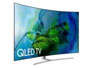 "Samsung QN55Q8CAMFXZC 55"" 4K UHD HDR Curved QLED Tizen Smart TV - New 2017 Model"