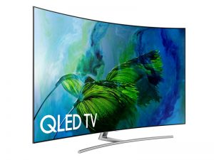 "Samsung QN55Q8CAMFXZC 55"" 4K UHD HDR Curved QLED Tizen Smart TV - New 2017 Model"