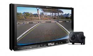 Pioneer AVIC-7201NEX In-Dash Navigation AV Receiver w/ Touchscreen Display and included ND-BC8 Back-Up Camera