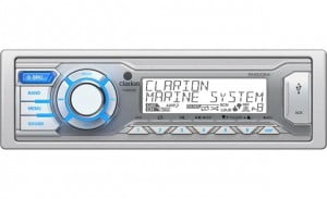 Clarion M205 Marine AM/FM/WB/USB Mechless Receiver