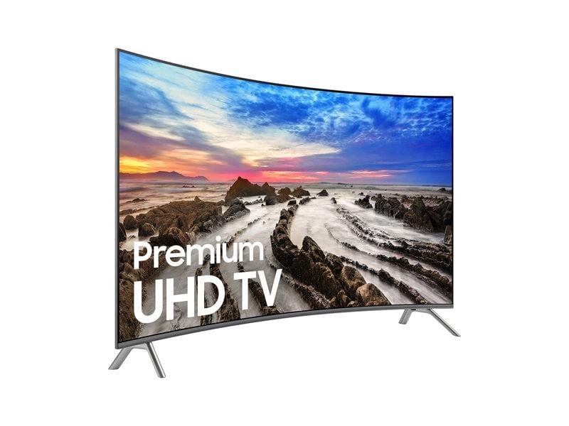 Samsung Un55mu8500fxzc Curved 4k Uhd Tv 55 Class 2 Left